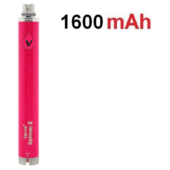 Vision Baterie Spinner II eGo VV růžová 1600mAh