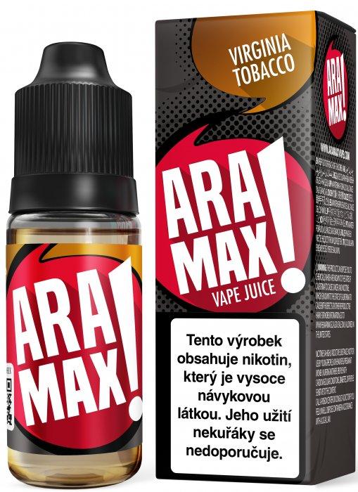 ARAMAX Virginia Tobacco 10ml Množství nikotinu: 0mg