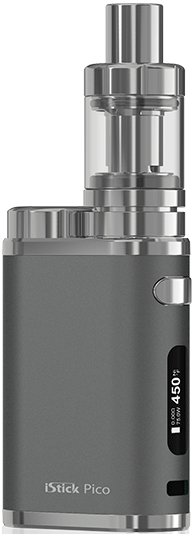 iSmoka-Eleaf iStick PICO TC 75W FULL GRIP šedý 1ks