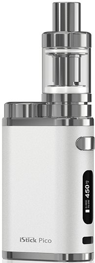 ISMOKA-Eleaf iStick PICO TC 75W FULL GRIP bílý 1ks