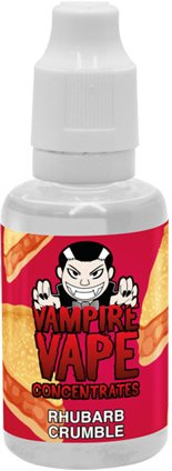 Příchuť Vampire Vape Rhubarb Crumble 30ml