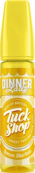 Příchuť Dinner Lady Tuck Shop Shake and Vape - Lemon Sherbet (Jedinečná citrónová chuť) 20ml