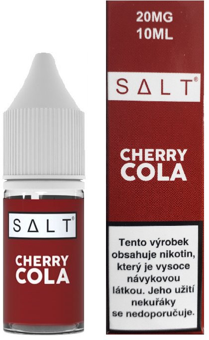 E-liquid Juice Sauz SALT Cherry Cola 10ml Množství nikotinu: 20mg