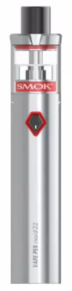 Smoktech Vape Pen Nord 22 elektronická cigareta stříbrná