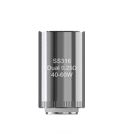 iSmoka-Eleaf Dual SS316 žhavící hlava 0,25ohm