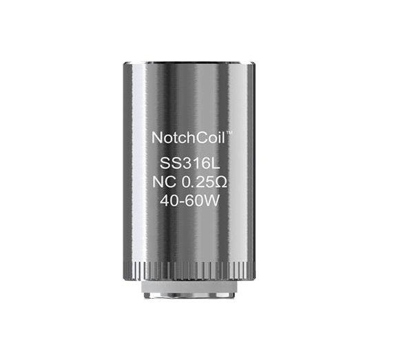 iSmoka-Eleaf NotchCoil TM SS316 žhavicí hlava 0,25ohm 1ks