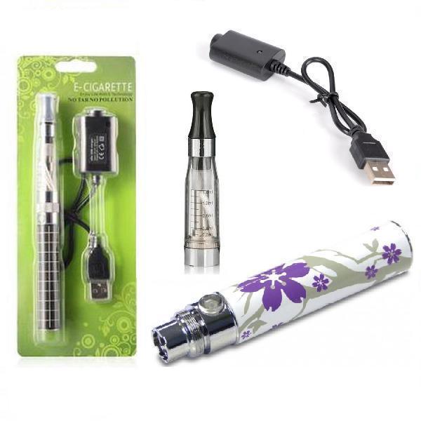 Green Sound Elektronická cigareta eGo-CE4 900mAh fialová květinka 1ks
