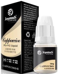 E-liquid Joyetech 10ml Cappuccino (kapučíno) Množství nikotinu: 3mg