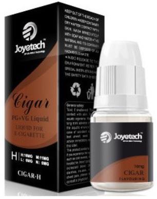 E-liquid Joyetech 10ml Cigar - doutník Množství nikotinu: 0mg