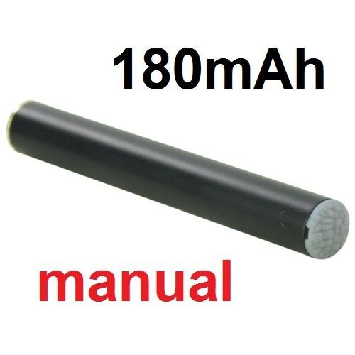 Green Sound Baterie 180mAh 510 černá, manual pro elektronické cigarety
