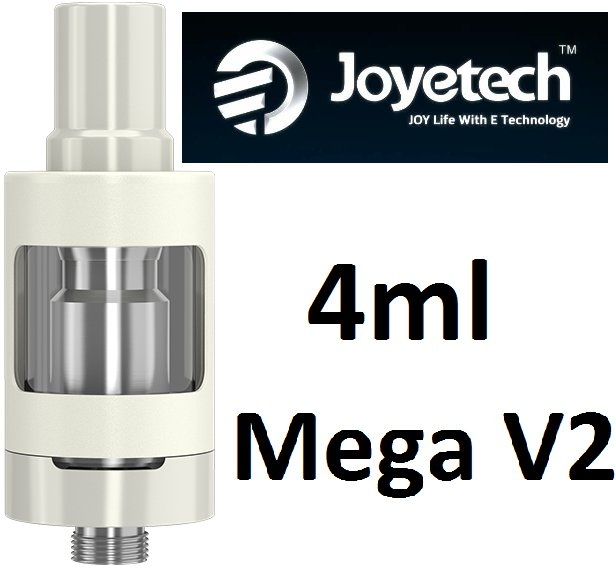 Joyetech eGo ONE Mega V2 clearomizer 4ml bílý