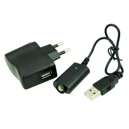 Nabíječka USB elektronická cigareta eGo komplet