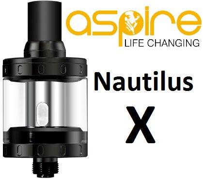 aSpire Nautilus X clearomizer černý 2ml