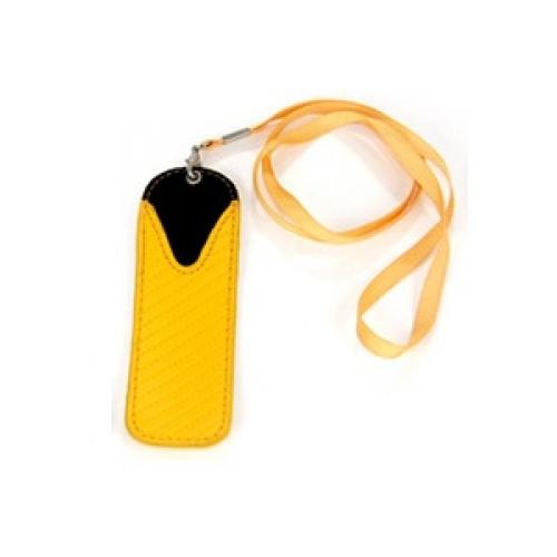 Pouzdro na krk pro elektronické cigarety eGo (žlutá)