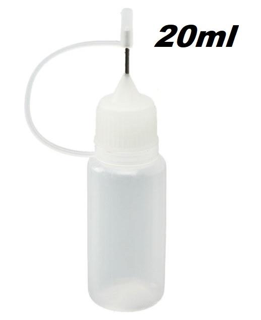 Green Sound Plnící lahvička s jehlou 20ml