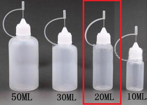 Plnící lahvička s jehlou 20ml 1ks