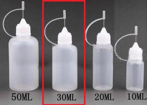 Plnící lahvička s jehlou 30ml
