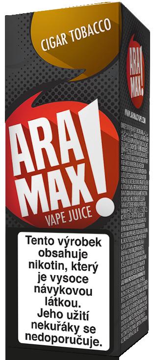 E-liquid ARAMAX Cigar Tobacco 10ml Množství nikotinu: 0mg