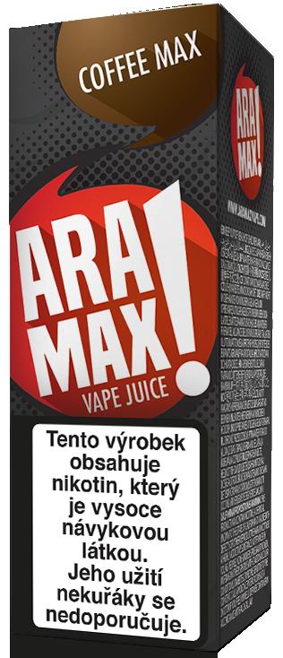 E-liquid ARAMAX Coffee Max 10ml Množství nikotinu: 0mg