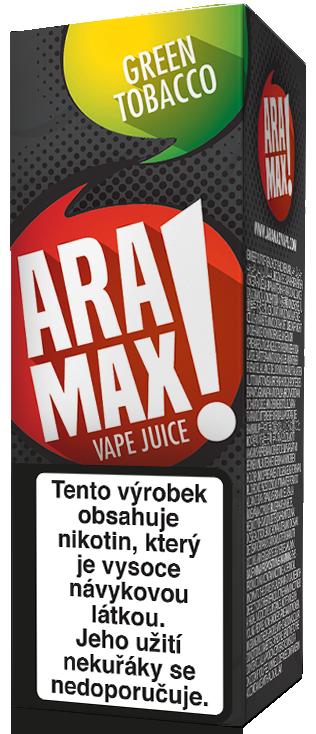 E-liquid ARAMAX Green Tobacco 10ml Množství nikotinu: 0mg