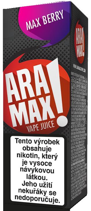 E-liquid ARAMAX Max Berry 10ml Množství nikotinu: 0mg