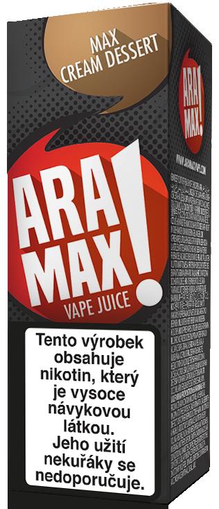 E-liquid ARAMAX Max Cream Dessert 10ml Množství nikotinu: 0mg