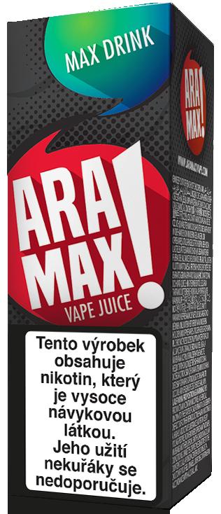 E-liquid ARAMAX Max Drink 10ml Množství nikotinu: 0mg