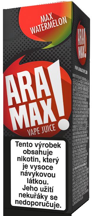 E-liquid ARAMAX Max Watermelon 10ml Množství nikotinu: 0mg