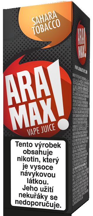 E-liquid ARAMAX Sahara Tobacco 10ml Množství nikotinu: 0mg