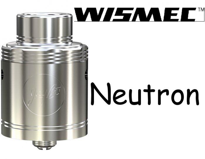 WISMEC Neutron RDA Atomizér Stříbrná
