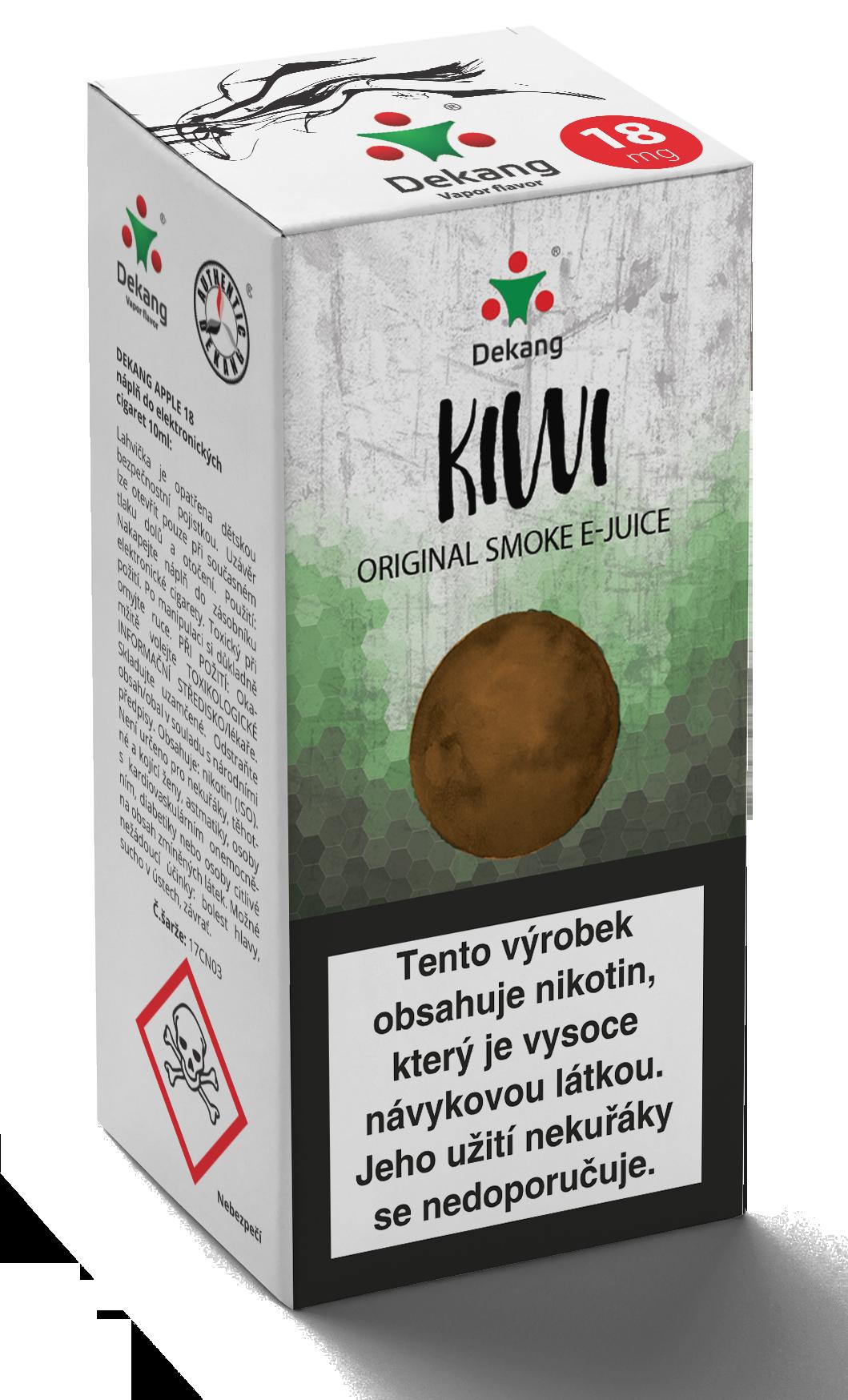 E-liquid Dekang 10ml Kiwi Množství nikotinu: 0mg