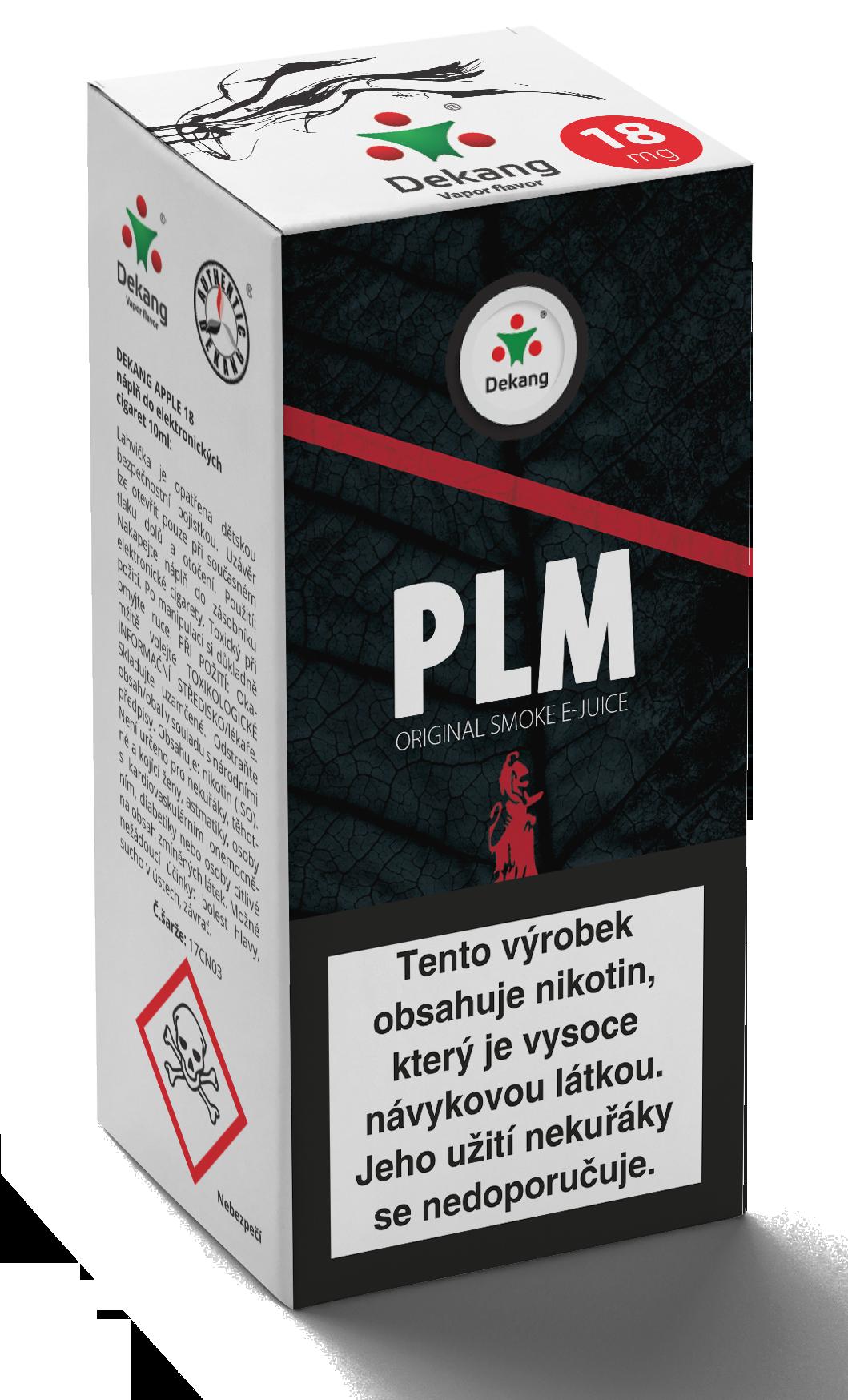 E-liquid Dekang 10ml PLM Množství nikotinu: 11mg