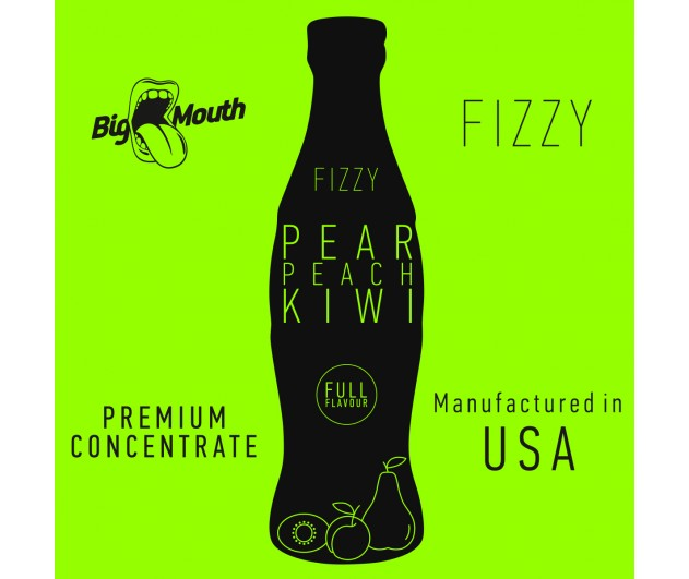 Příchuť Big Mouth FIZZY - Hruška, broskev, kiwi 10ml
