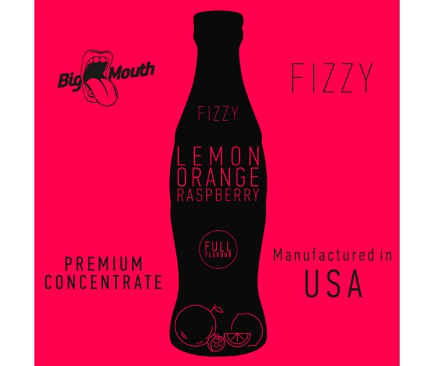 Příchuť Big Mouth FIZZY - Citron, pomeranč, malina 10ml