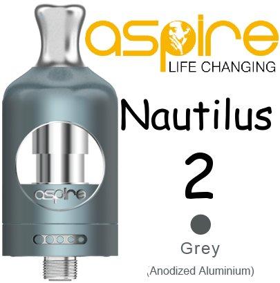 Aspire Nautilus 2 Clearomizér šedý 2ml