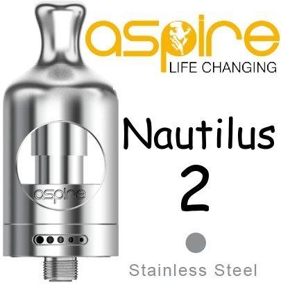 Aspire Nautilus 2 Clearomizér stříbrný 2ml