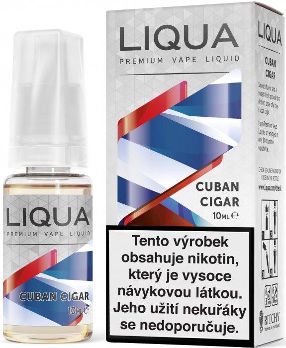 E-liquid LIQUA Elements Cuban Cigar Tobacco 10ml (Kubánský doutník) Množství nikotinu: 0mg