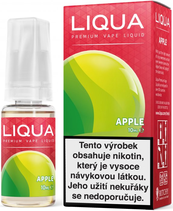 E-liquid LIQUA Elements Apple 10ml (jablko) Množství nikotinu: 0mg