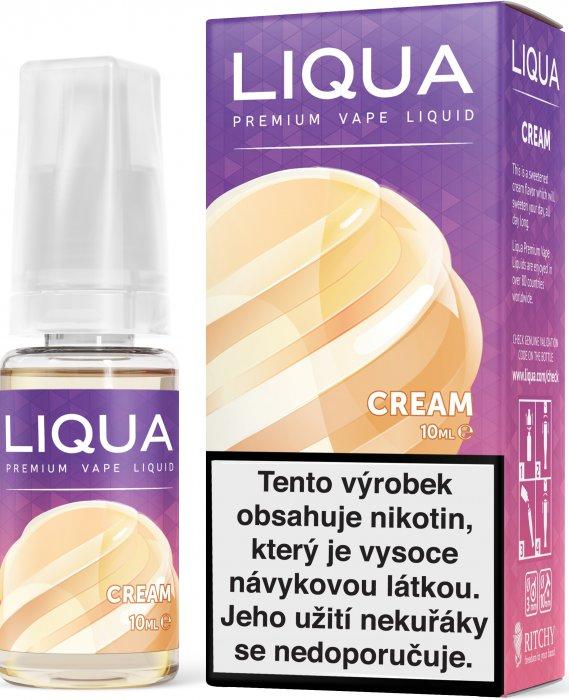 E-liquid LIQUA Elements Cream 10ml (Smetana) Množství nikotinu: 0mg