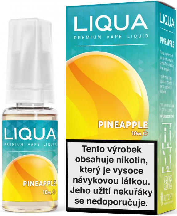 E-liquid LIQUA Elements Pineapple 10ml (Ananas) Množství nikotinu: 18mg