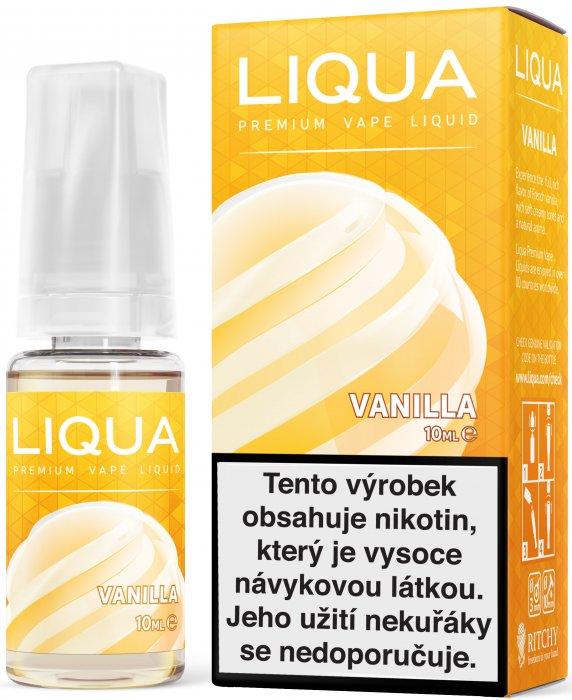 E-liquid LIQUA Elements Vanilla 10ml (Vanilka) Množství nikotinu: 0mg