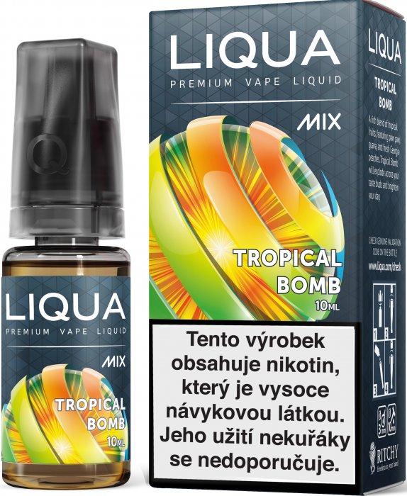 E-liquid LIQUA MIX Tropical Bomb 10ml (Tropická bomba) Množství nikotinu: 0mg