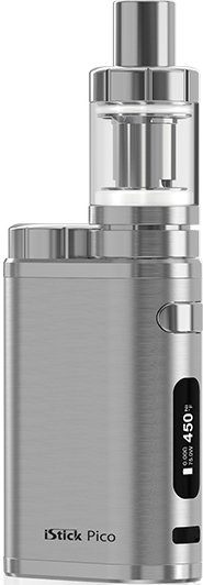 iSmoka-Eleaf iStick Pico TC 75W full Brushed Silver 1ks