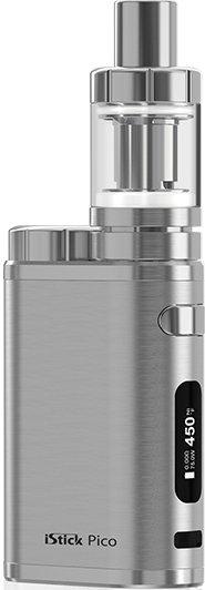 iSmoka-Eleaf iStick Pico TC 75W full Brushed Silver