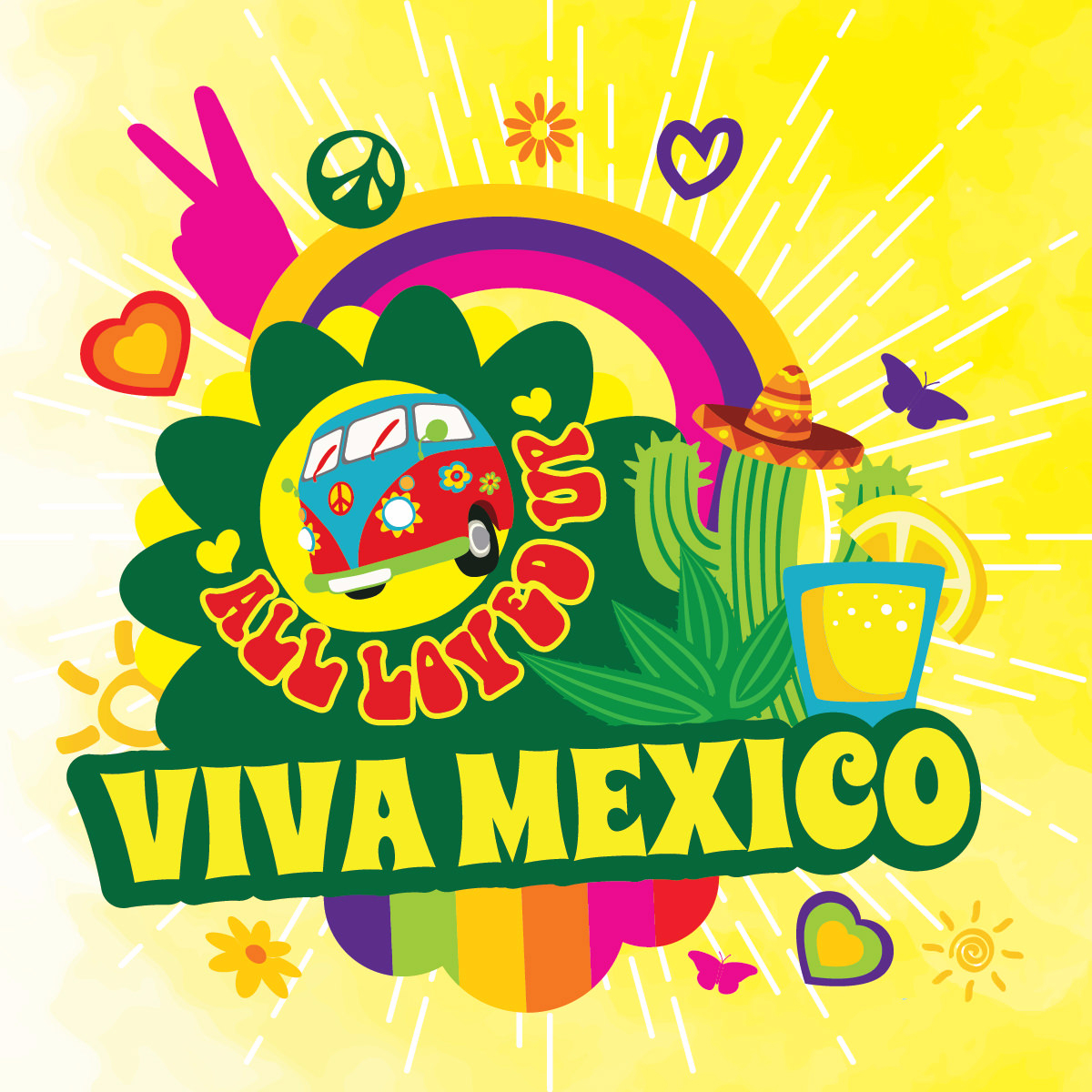 Příchuť Big Mouth All Loved Up - Viva Mexico (Kaktus, citron)