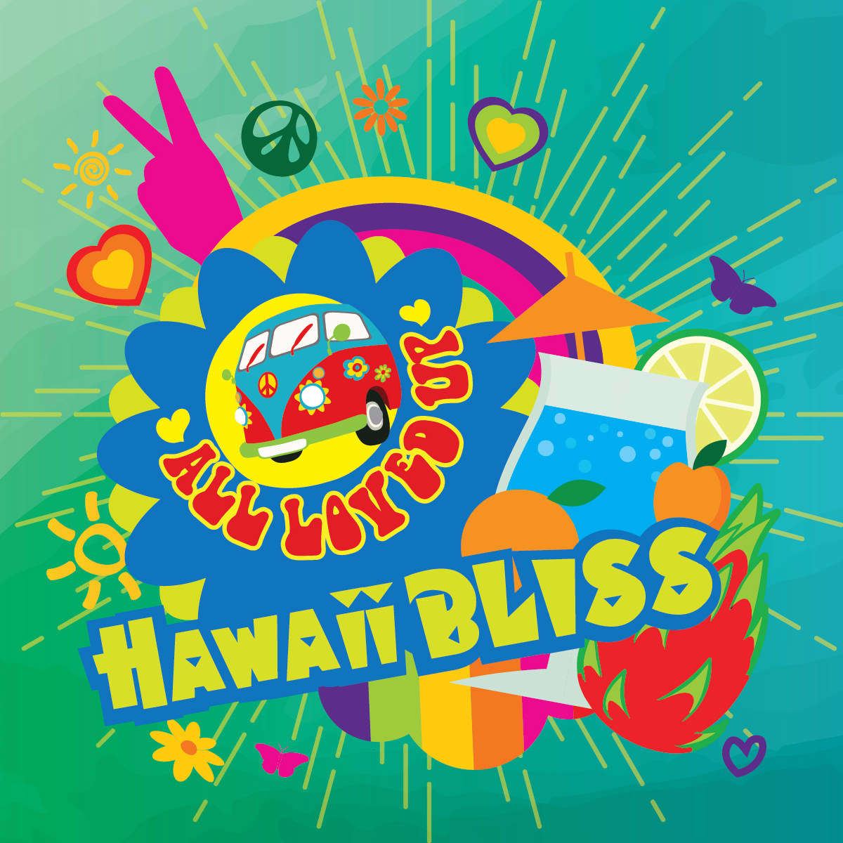 Big Mouth All Loved Up Hawaii Bliss 10ml