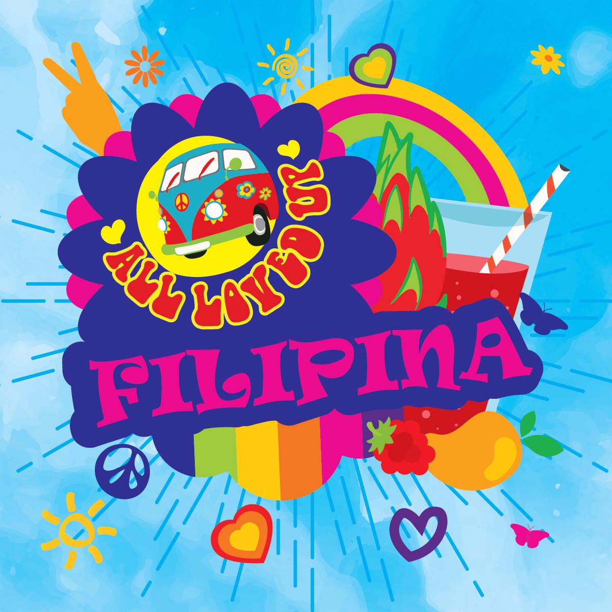 Příchuť Big Mouth All Loved Up - Filipina (Dračí ovoce, malina, broskev)