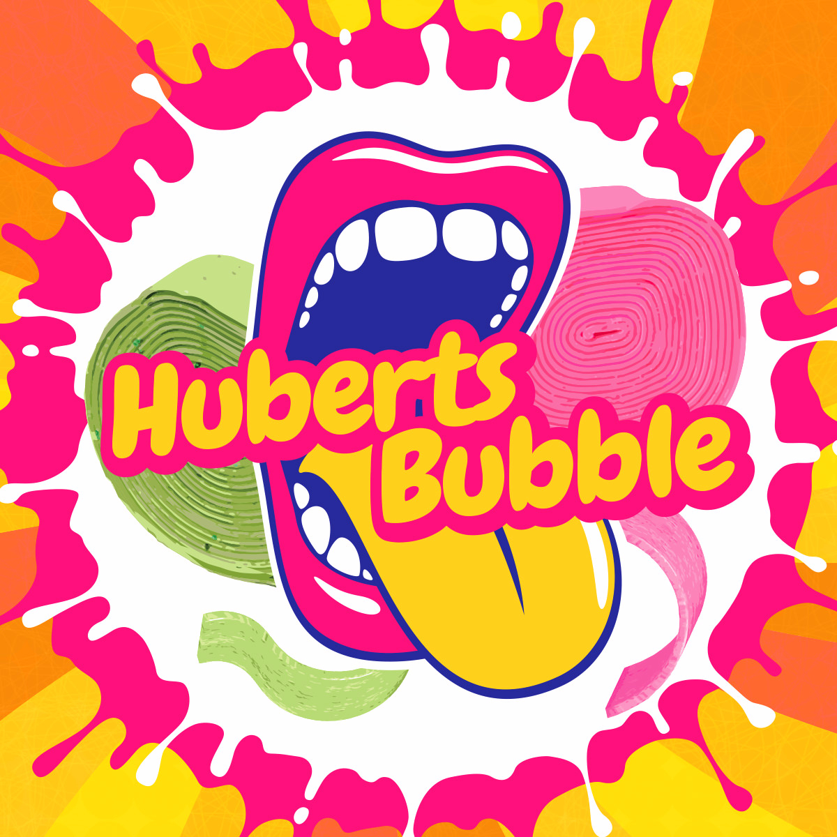 Příchuť Big Mouth Huberts Bubble (Ovocná žvýkačka)