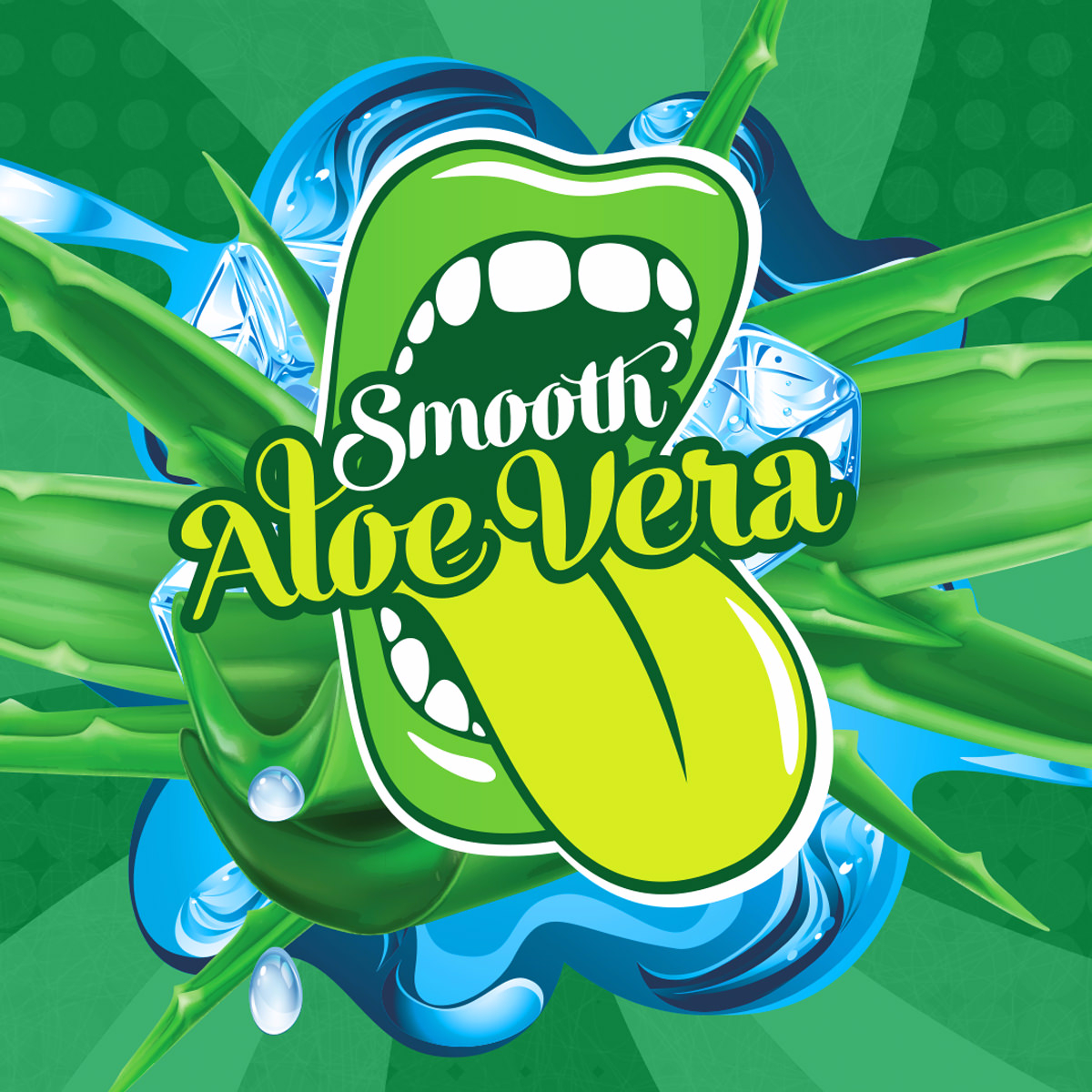 Příchuť Big Mouth Smooth Aloe Vera (Aloe Vera)