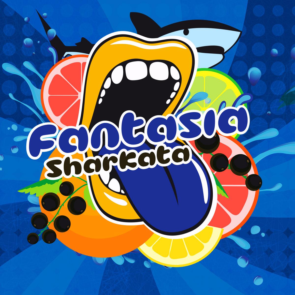 Příchuť Big Mouth Fantasia Sharkata (Citrusový nápoj)